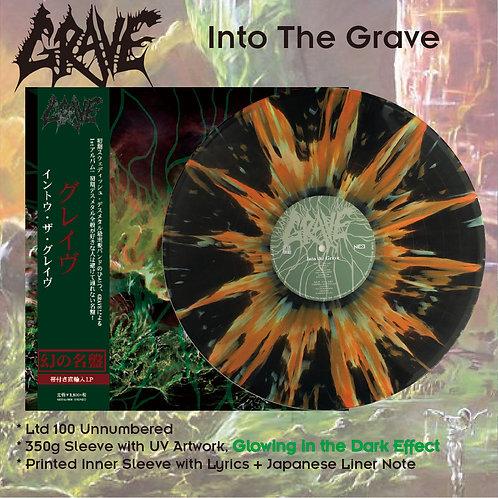 Grave - Into The Grave Black Vinyl + Green/Orange Splatter