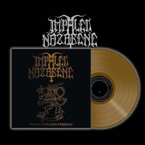 Impaled Nazarene - Suomi Finland Perkele Golden Vinyl LP