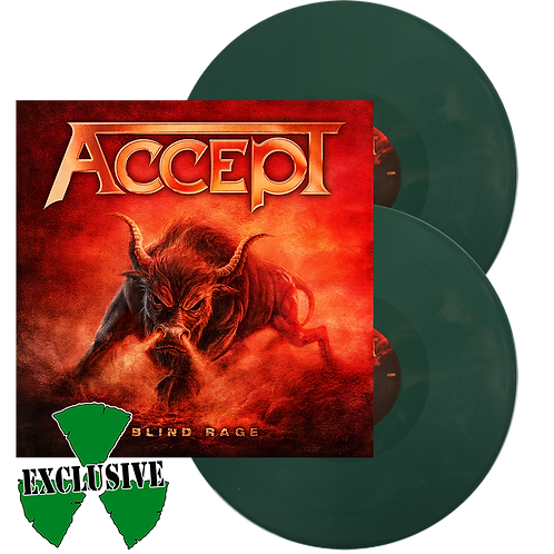 Accept - Blind Rage Green Vinyl 2LP