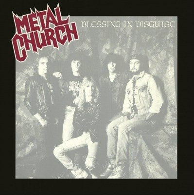 Metal Church - Blessing In Disguise Black Vinyl LP