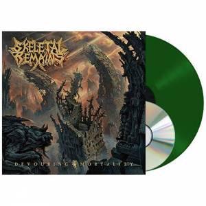 Skeletal Remains - Devouring Mortality Green Vinyl LP