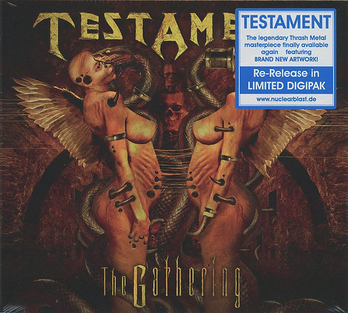 Testament - The Gathering CD Digipak
