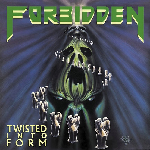 Forbidden - Twisted Into Form CD