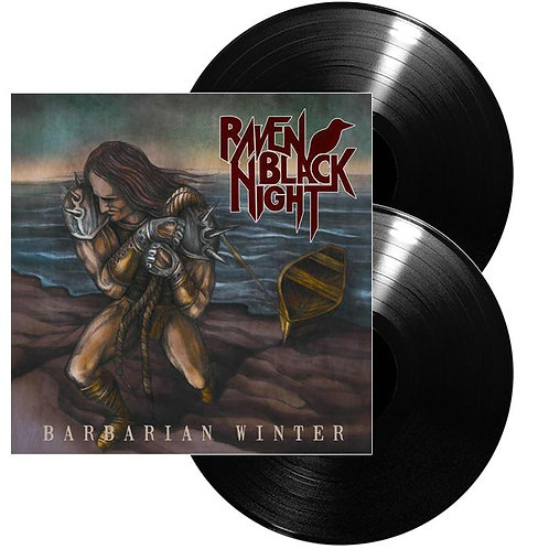 Raven Black Night - Barbarian Winter Black Vinyl 2LP