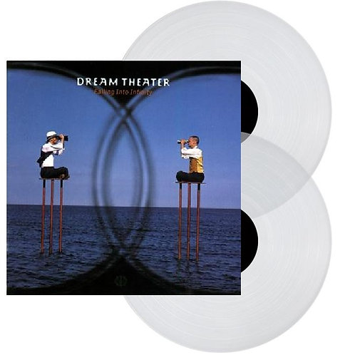 Dream Theater - Falling Into Infinity Clear Vinyl 2LP