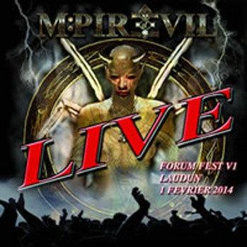 M:Pire Of Evil - Live Black Vinyl LP