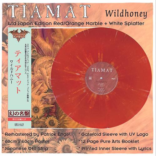 Tiamat - Wildhoney Orange/Red Vinyl + White Splatter Vinyl LP Ltd Japan Version