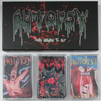 Autopsy  - Skin Begins To Rot Cassette Ltd 800
