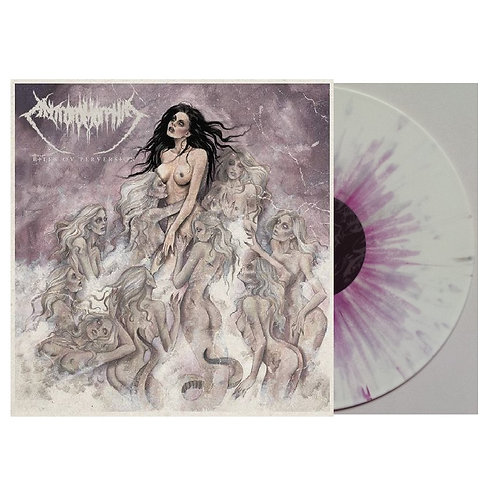 Antropomorphia - Rites Ov Perversion White/Purple Splatter Vinyl LP
