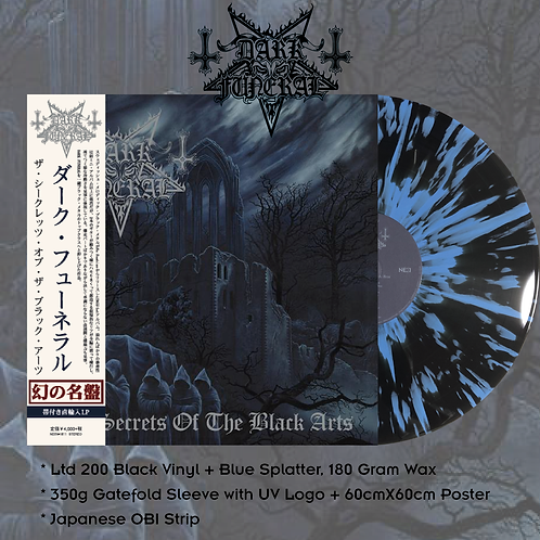 Dark Funeral ‎– The Secrets Of The Black Arts Japan Version Ltd 200