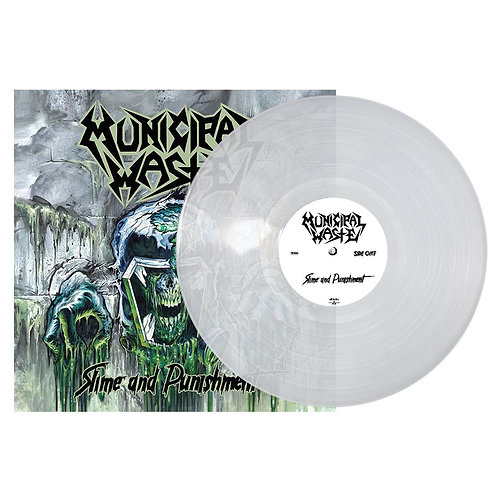 Municipal Waste - Slime And Punishment Clear Vinyl LP