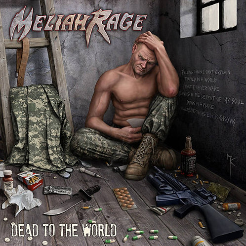 Meliah Rage - Dead To The World White Vinyl 2LP