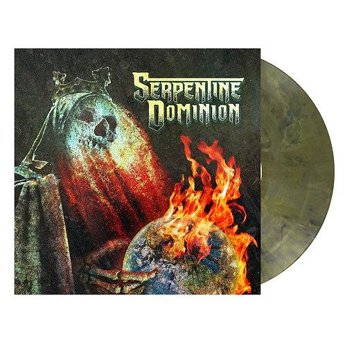 Serpentine Dominion - Serpentine Dominion Dark Red Marbled Vinyl LP