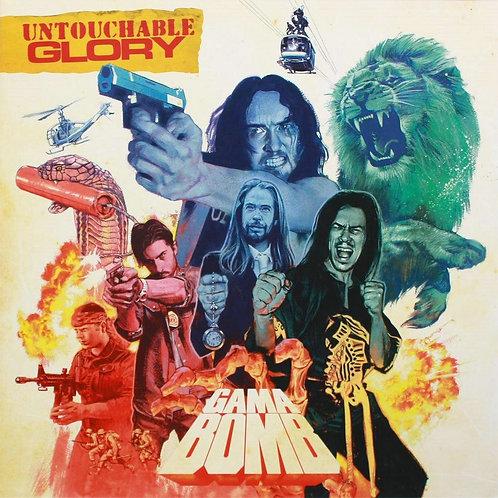 Gama Bomb - Untouchable Glory Red Vinyl LP