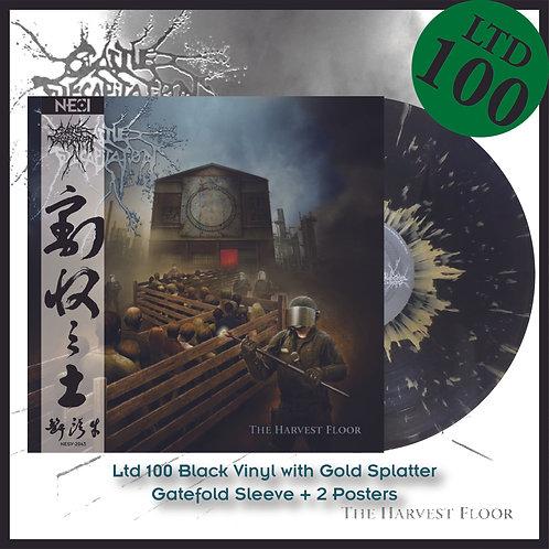 Cattle Decapitation - The Harvest Floor Ltd 100 Black Vinyl+Gold Splatter