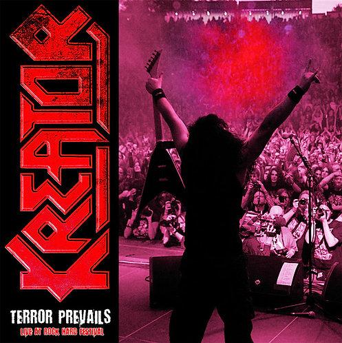 Kreator - Terror Prevails Live At Rock Hard Festival, Pt. 1 Red Vinyl LP