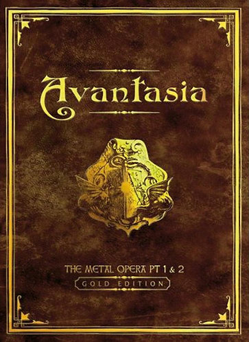 Avantasia - The Metal Opera Pt 1 & 2 Gold Edition 2CD