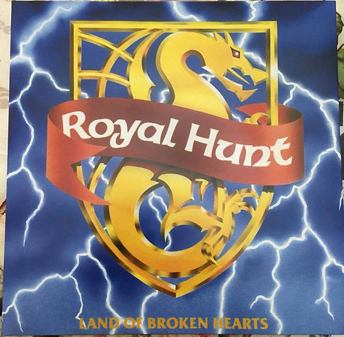 Royal Hunt - Land Of Broken Hearts Blue Vinyl LP