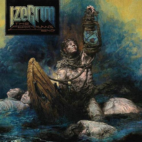 Izegrim - The Ferrymans End Blue Vinyl LP