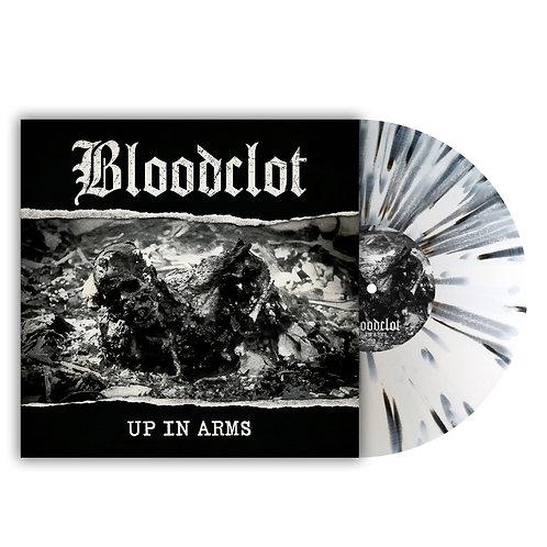 Bloodclot - Up In Arms White/Black Splatter Vinyl LP