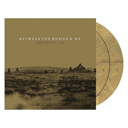 Between The Buried And Me - Coma Ecliptic:Live Golden/Yellow Marble Vinyl 2LP