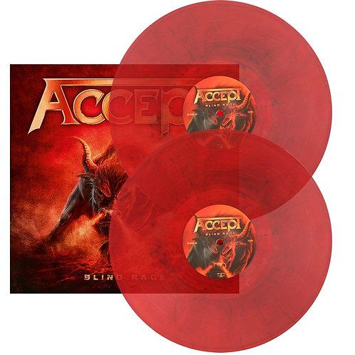 Accept - Blind Rage Red Marbled Vinyl 2LP