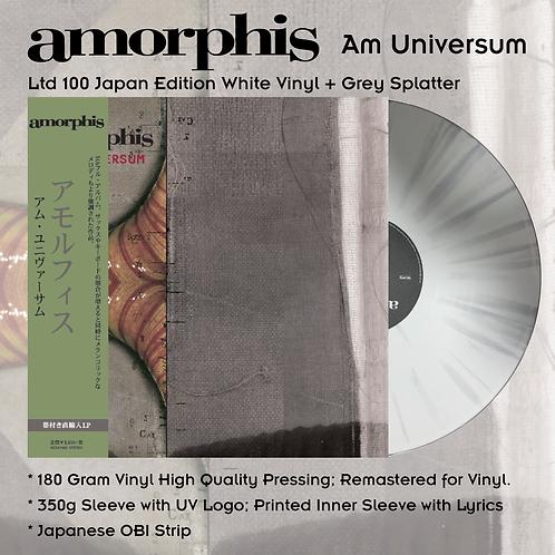 Amorphis - Am Universum Splatter Vinyl LP Japan Version Ltd 100