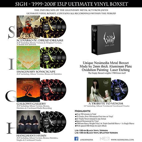 Sigh - 1999-2008 Vinyl Collcetion 13LP Boxset Splatter Vinyl Ltd 100