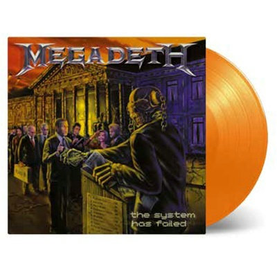 Megadeth - System Has Failed Orange Vinyl LP