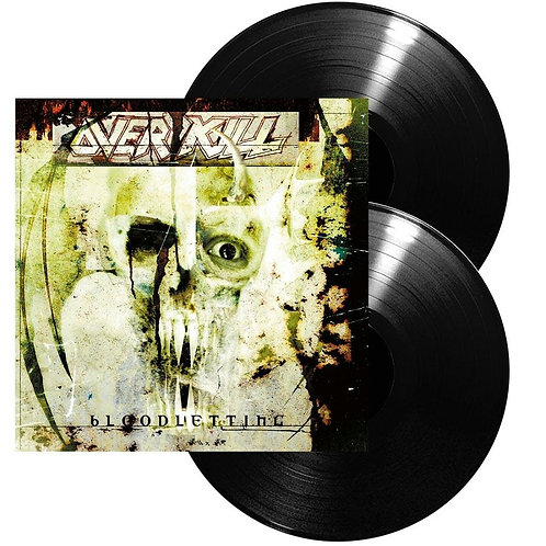 Overkill - Bloodletting Black Vinyl 2LP
