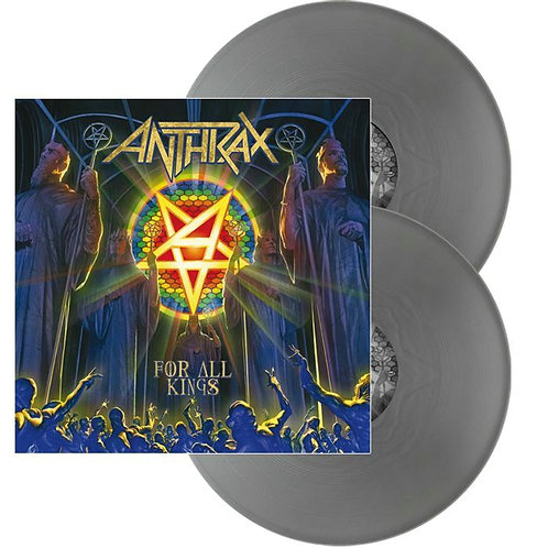 Anthrax - For All Kings Silver Vinyl 2LP