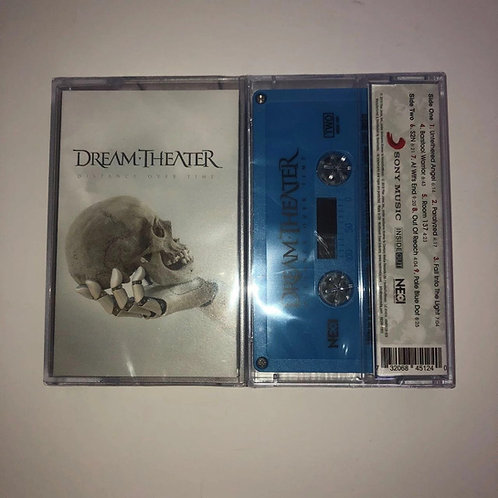 Dream Theater - Distance Over Time Cassette Blue Shell Ltd 200