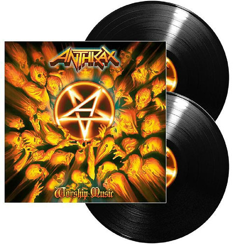 Anthrax - Worship Music Black Vinyl 2LP