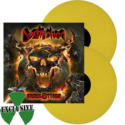 Destruction - Under Attack Yellow Vinyl 2LP