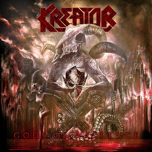 Kreator - Gods Of Violence Brown Vinyl 2LP