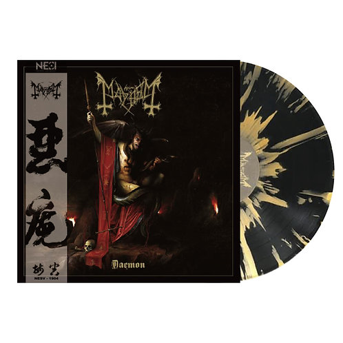 Mayhem - Daemon Golden Splatter Vinyl Gatefold LP Ltd 100
