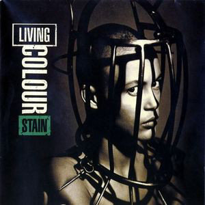 Living Colour - Stain Black Vinyl LP