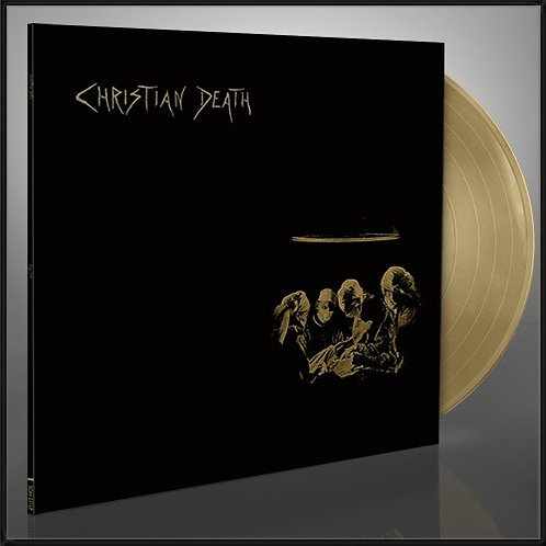 Christian Death - Atrocities Golden Vinyl LP