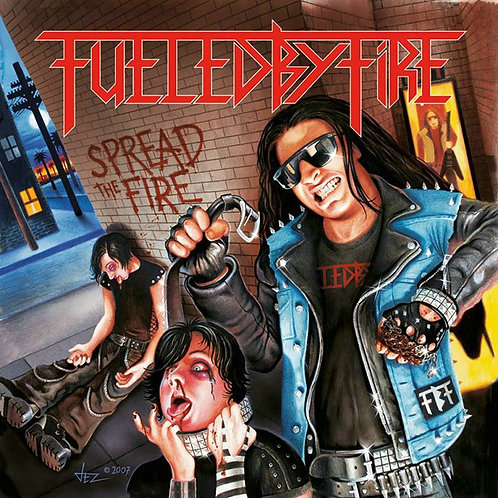 Fueled By Fire - Spread The Fire!!!! CD