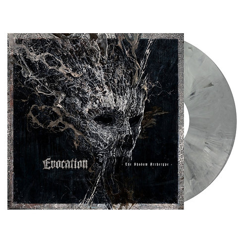 Evocation - The Shadow Archetype Grey Marble Vinyl LP