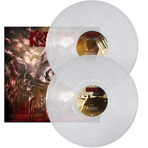 Kreator - Gods Of Violence Clear Vinyl 2LP