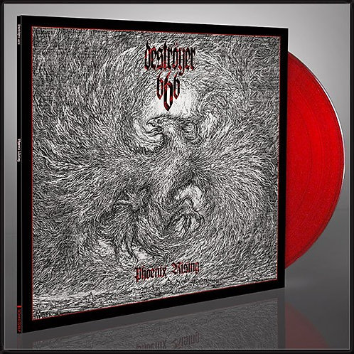 Deströyer 666 - Phoenix Rising Red Vinyl LP