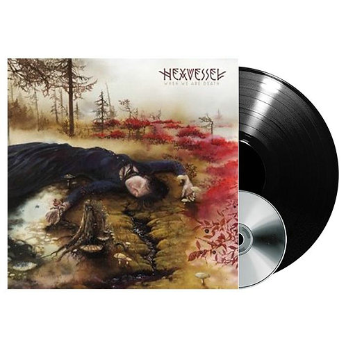 Hexvessel - When We Are Death Black Vinyl LP