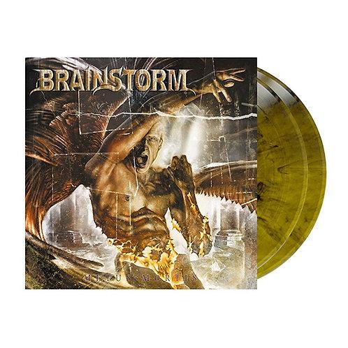 Brainstorm - Metus Mortis Olive Black Marble Vinyl 2LP