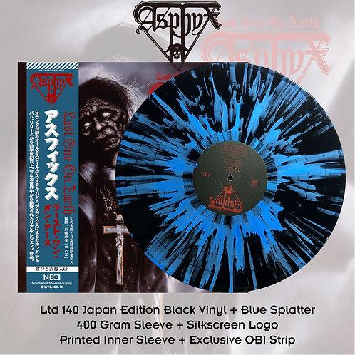 Asphyx - Last One On Earth Black Vinyl + Blue Splatter