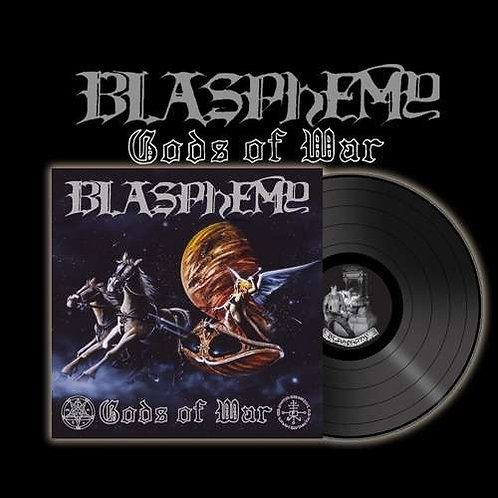 Blasphemy - Gods Of War & Blood Upon The Altar Black Vinyl LP