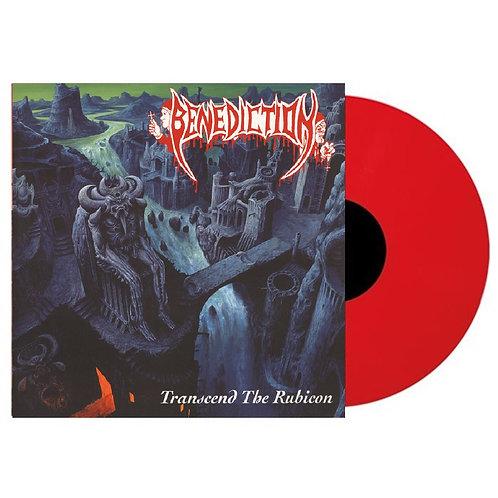 Benediction - Transcend The Rubicon Red Vinyl LP