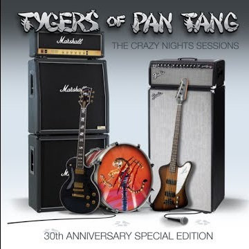 Tygers Of Pan Tang - The Crazy Nights Sessions Black Vinyl LP