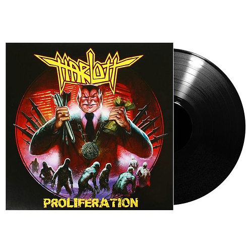 Harlott - Proliferation Black Vinyl LP