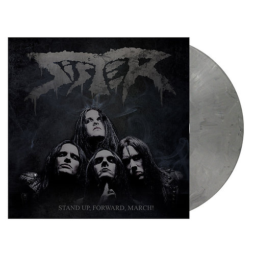 Sister - Stand Up, Forward, March! Grey Marble Vinyl LP